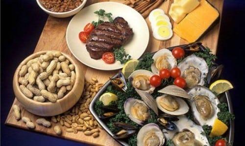 alimentos con mucho zinc