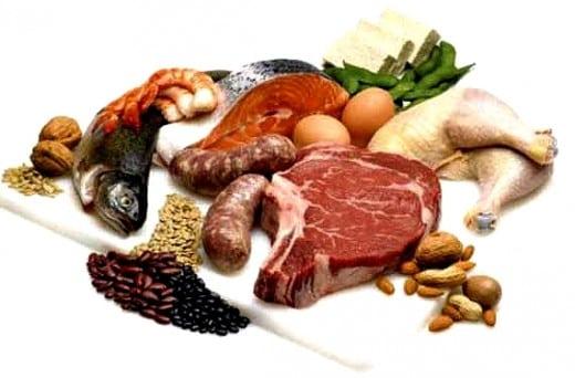 que alimentos contienen acido urico