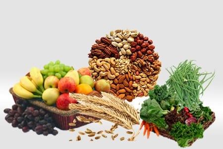 alimentos con fibra insoluble