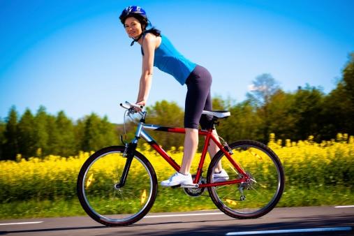 beneficios de andar en bicicleta