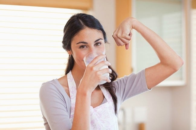 Alimentos con vitamina D y calcio para huesos fuertes