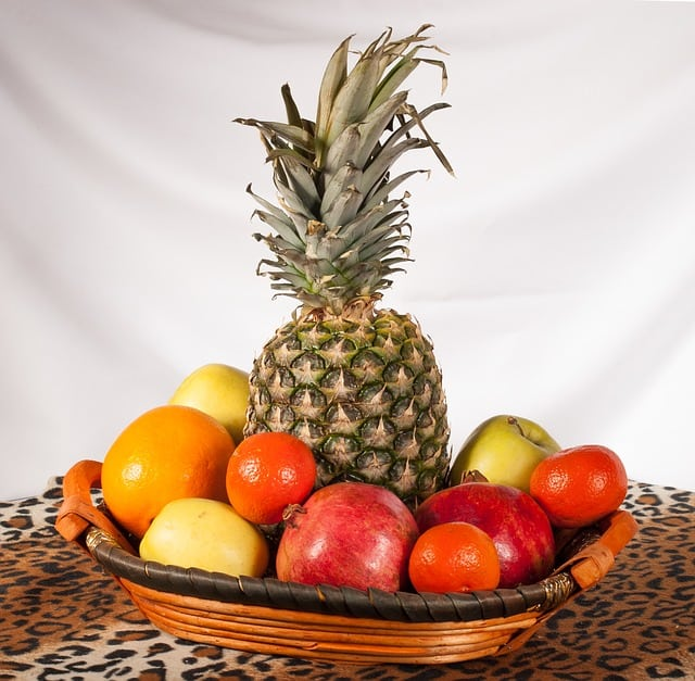 alimentos con alto contenido de fibra