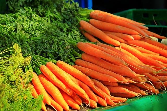 Alimentos con betacaroteno