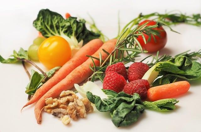 Alimentos con pocas calorias