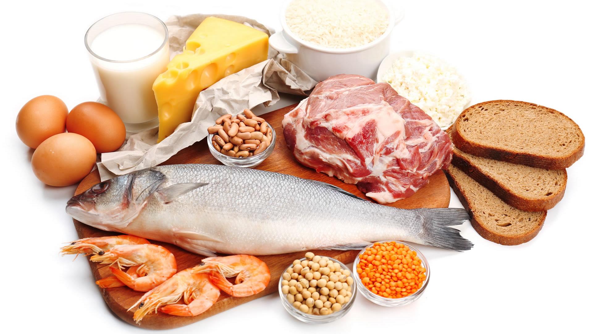 Alimentos con proteinas y su importancia para los musculos