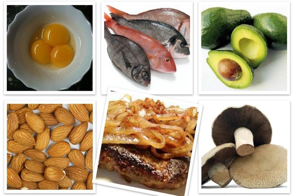 alimentos con vitamina h