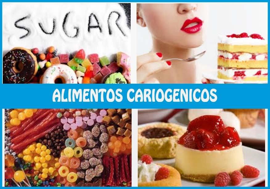 alimentos cariogenicos