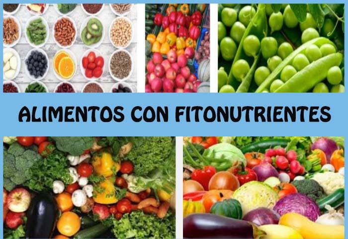 alimentos con fitonutrientes