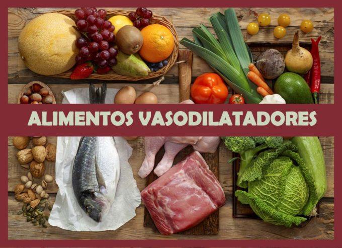 alimentos vasodilatadores