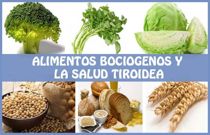 alimentos bociogenos o goitrógenos y la salud tiroidea.