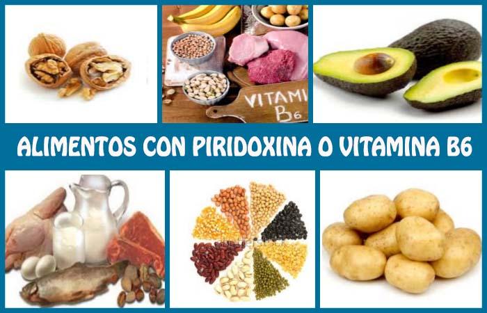 Alimentos ricos en piridoxina o vitamina b6 su importancia y fuentes - Alimentos vitaminas b ...