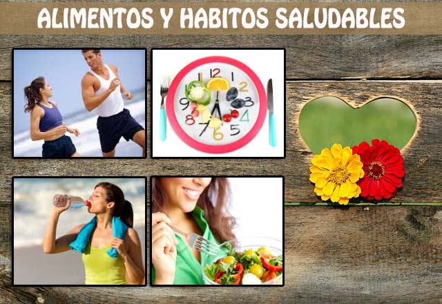 alimentos y habitos saludables