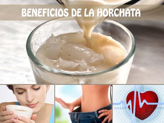 beneficios de la horchata