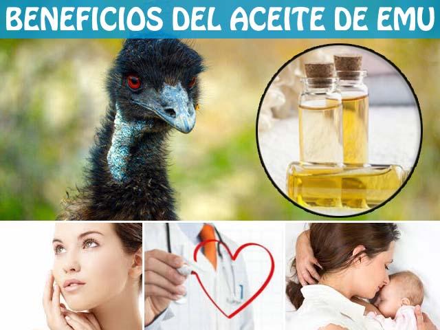 beneficios del aceite de emu