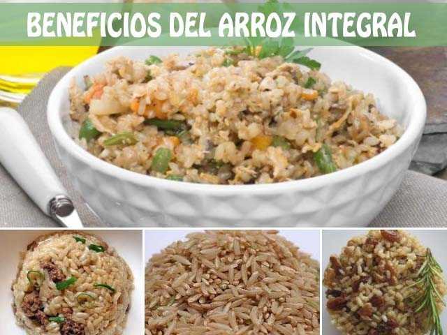 beneficios del arroz integral