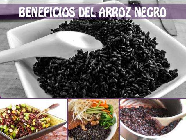 beneficios del arroz negro y como conusmirlo