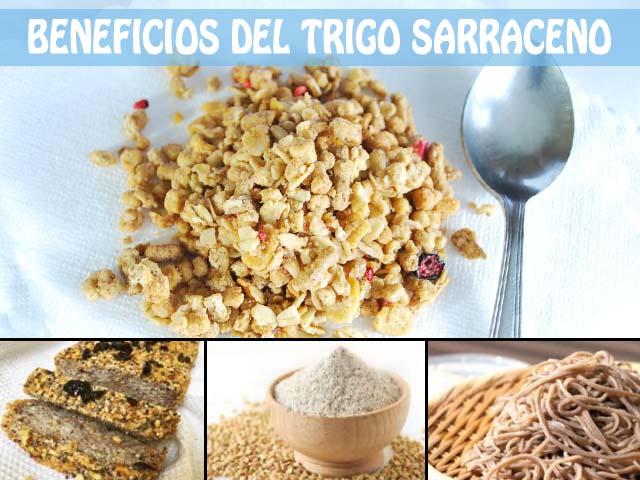 beneficios del trigo sarraceno o alforfon