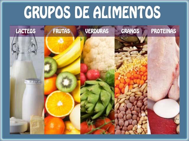 Alimentos que forman parte de una dieta balanceada