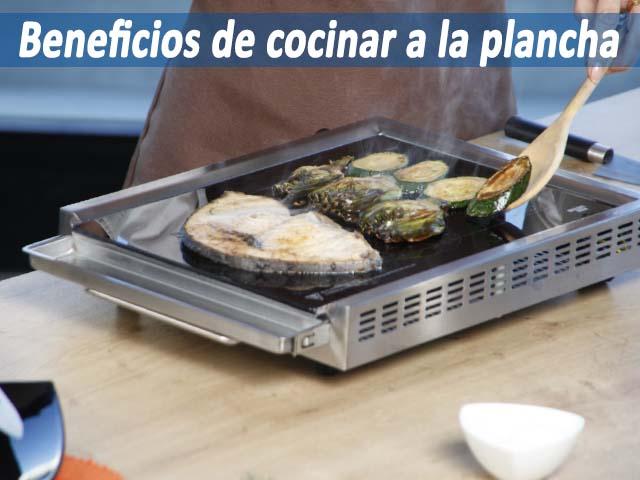 Beneficios de cocinar a la plancha y porque debemos utilizarla for Cocinar pez espada a la plancha