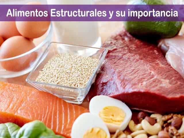 alimentos estructurales
