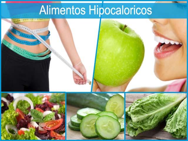 Alimentos hipocaloricos y como te ayudan a bajar de peso