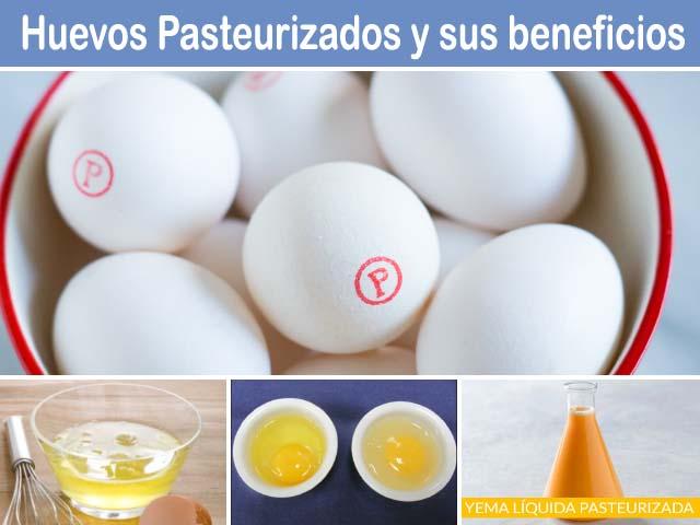 claras yemas y huevos pasteurizados