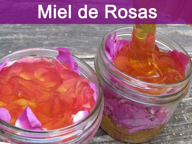 beneficios de la miel de rosas o rodomiel