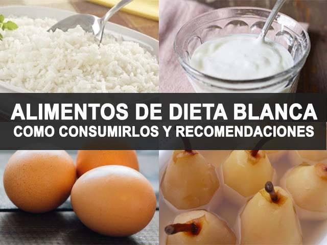 Alimentos para dieta blanda