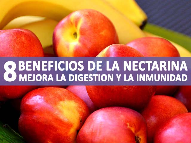 propiedades y beneficios de la nectarina