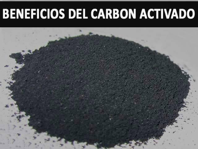 beneficios del carbon activado