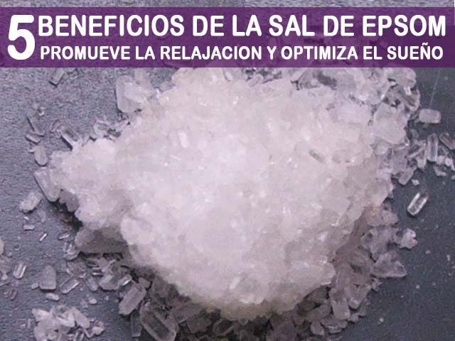 beneficios de la sal de epsom