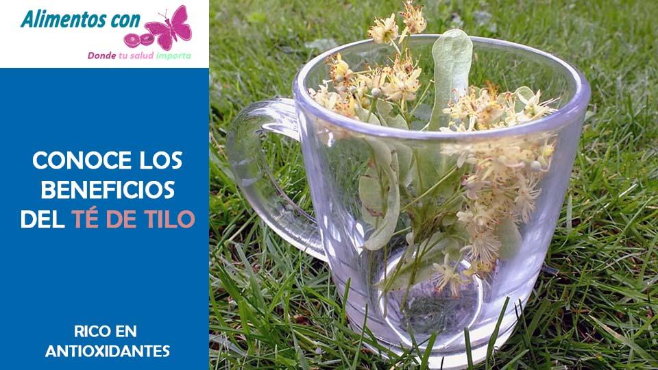 Aprende sobre los beneficios del te de Tilo