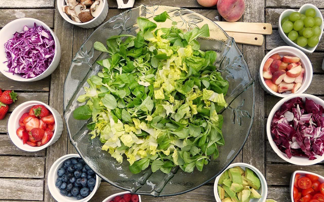 Las verduras y frutas presentan flavonoides que ayudan a prevenir enfermedades