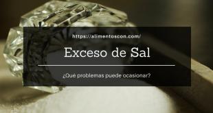 Efectos del exceso de sal en el organismo